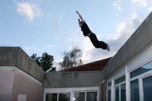 Jerome Lebret Parkour Lisses